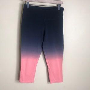 Nike dri-fit ombré cropped leggings